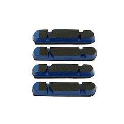 CAMPAGNOLO SPARES BR-BO500 BRAKE PADS FOR PEO RIMS BLUE (4 PCS):