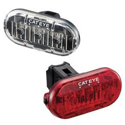 CATEYE OMNI 3 FRONT & REAR LIGHT SET: